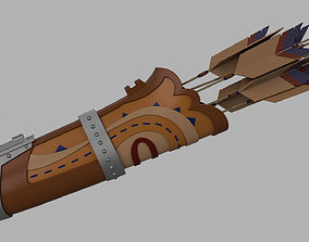 Links quiver 3D printable model
