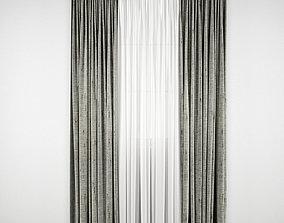 3D model Curtain 108