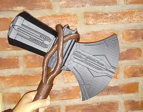 STORMBREAKER NEW THOR HAMMER FROM 3D print model 1
