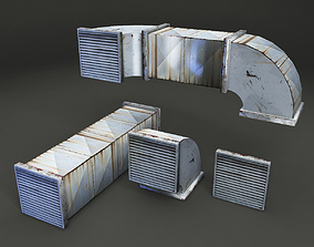 3D model Air Ducts