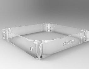 Phobya Fan Shroud 120mm x 20mm 3D model