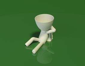 3D printable model Relaxing the big head