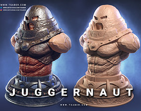 Juggernaut Bust 3D printable model
