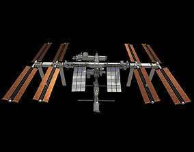 International Space Station ISS 2019 3D model