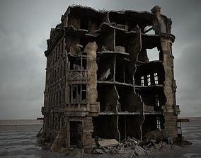 various-models 3D model destroyed building 088 am165