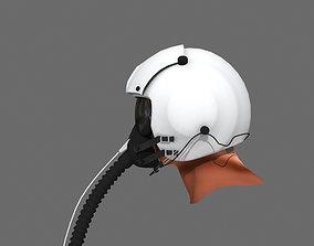 Pilot Helmet 3D model pilot