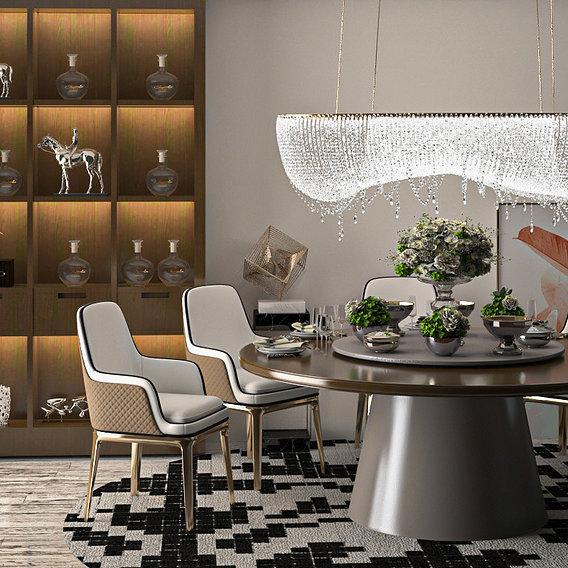 Dining room model 07