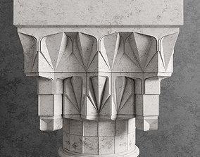 Ottoman column 3D