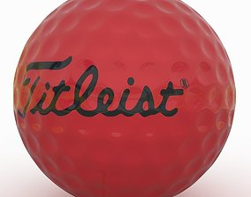 Gilf Ball Red 3D model