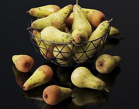 3D model Pears set