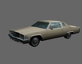 3D model American car 2