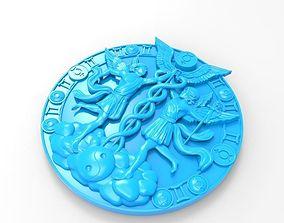 3D print model emblem 1