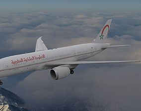 Boeing 787 Dreamliner Royal Air Maroc 3D model