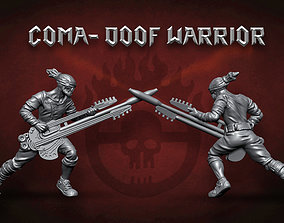Coma Doof Warrior - 32mm scale 3D printable model