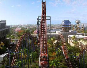 3D model Amusement Park 10