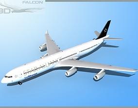 rigged Falcon3D A340-600 Lufthansa Star