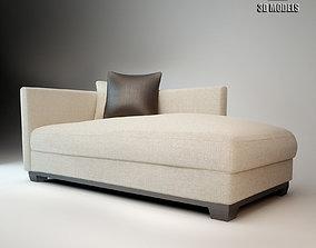 3D Allen Meridiani Sofa