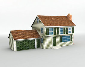 3D model game-ready House 2