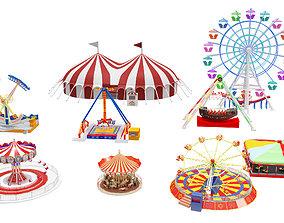 3D Amusement Park Equipment