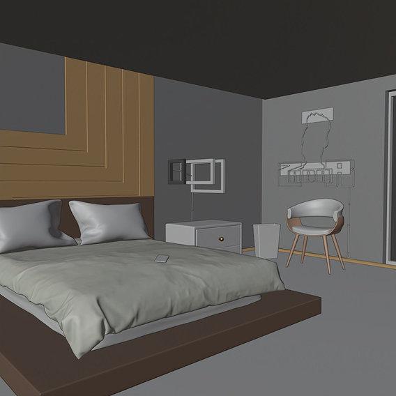 Artistic Bedroom