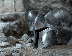 Dead knight helmet 3D model