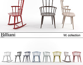 Billiani W collection 3D model