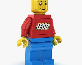 Lego Man 3D model VR / AR ready