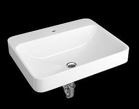 3D rectangle VOX RECTANGLE Vessel Bathroom Sink