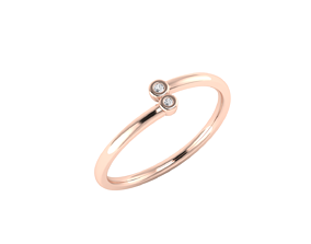 3D printable model Minimalistic simple engagement ring