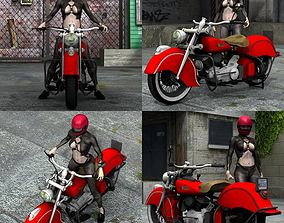 3D model Indian Chief 348 1948