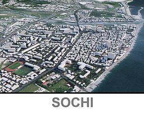 Sochi City 3D model