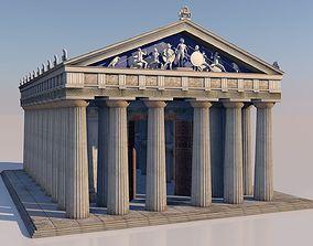 Greek doric temple 3D model