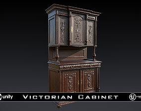 Victorian Antique Cabinet 3D asset