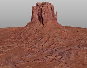 Monument Valley East Mitten Butte 3D model