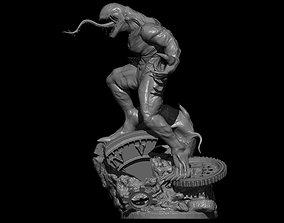Venom Statue 3D print model