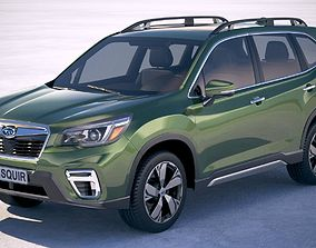 car Subaru Forester 2019 3D