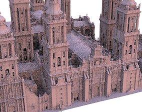 3D model Cathedral Huge detailed