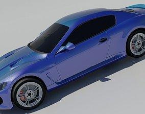 2015 Maserati GranTurismo 3D asset