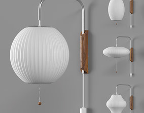 3D model Nelson Bubble Wall Sconce Cabled Collection