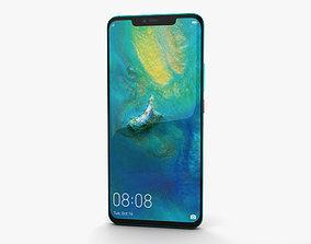 screen Huawei Mate 20 Pro Emerald Green 3D