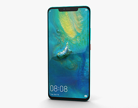 screen Huawei Mate 20 Pro Emerald Green 3D