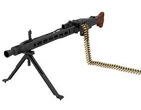 MG 42 WW2 German Machine Gun 3D