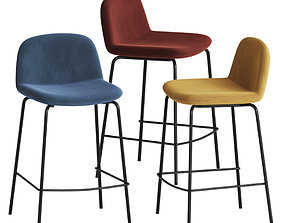 3D model Laredoute Am Pm Tibby Bar Stool