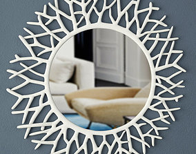 3D model Coral Mirror by ZARA HOME