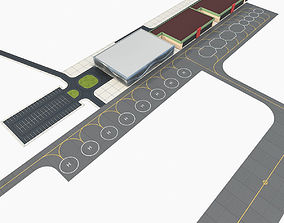 3D model Modern Regional Airport