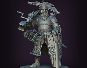 3D print model Medieval Crossbowman