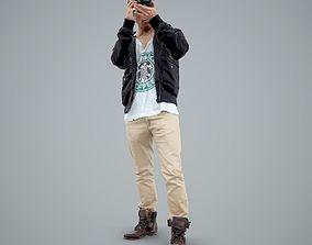 Paparazzi Man with Camera CMan0101-HD2-O02P01-S 3D model