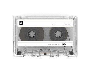 Compact cassette PBR 000 3D