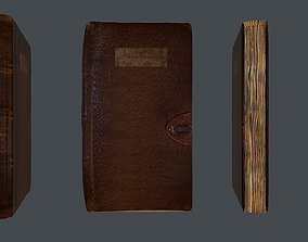 Diary book 3D asset