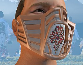 COVID 19 Mask 3D printable model